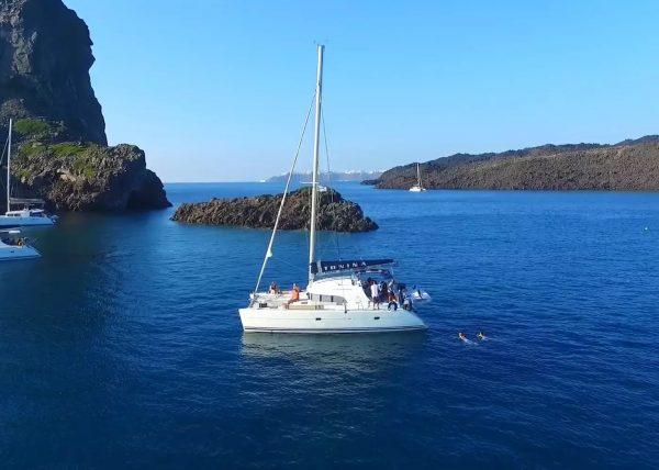 Santorini Catamaran Sailing