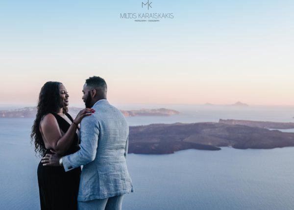 Surprise Wedding Proposal in Santorini – Santorini Wedding